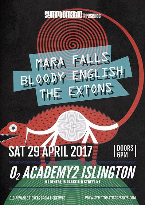 Mara Falls HEADLINING O2 Academy2 Islington