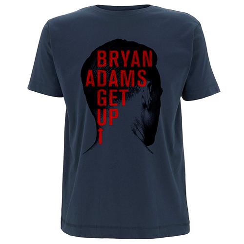 Back Head Shot (UK & Europe 2016) - Blue Tee - Bryan Adams
