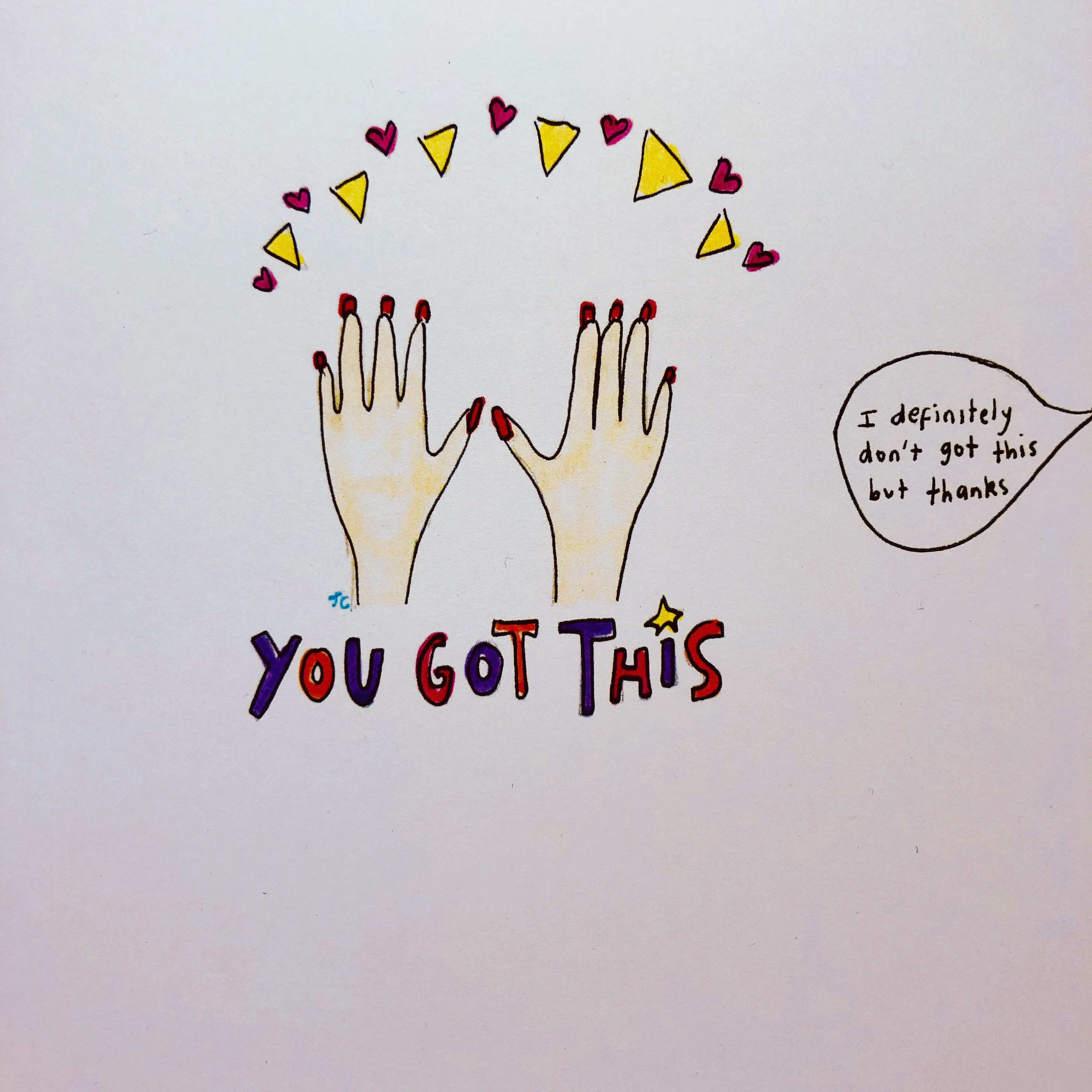 YOU GOT THIS PRINT - Jessie Cave