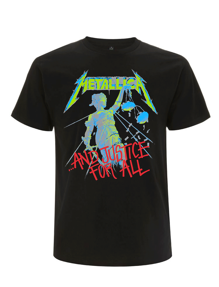 And Justice For All Classic - Tee - Metallica