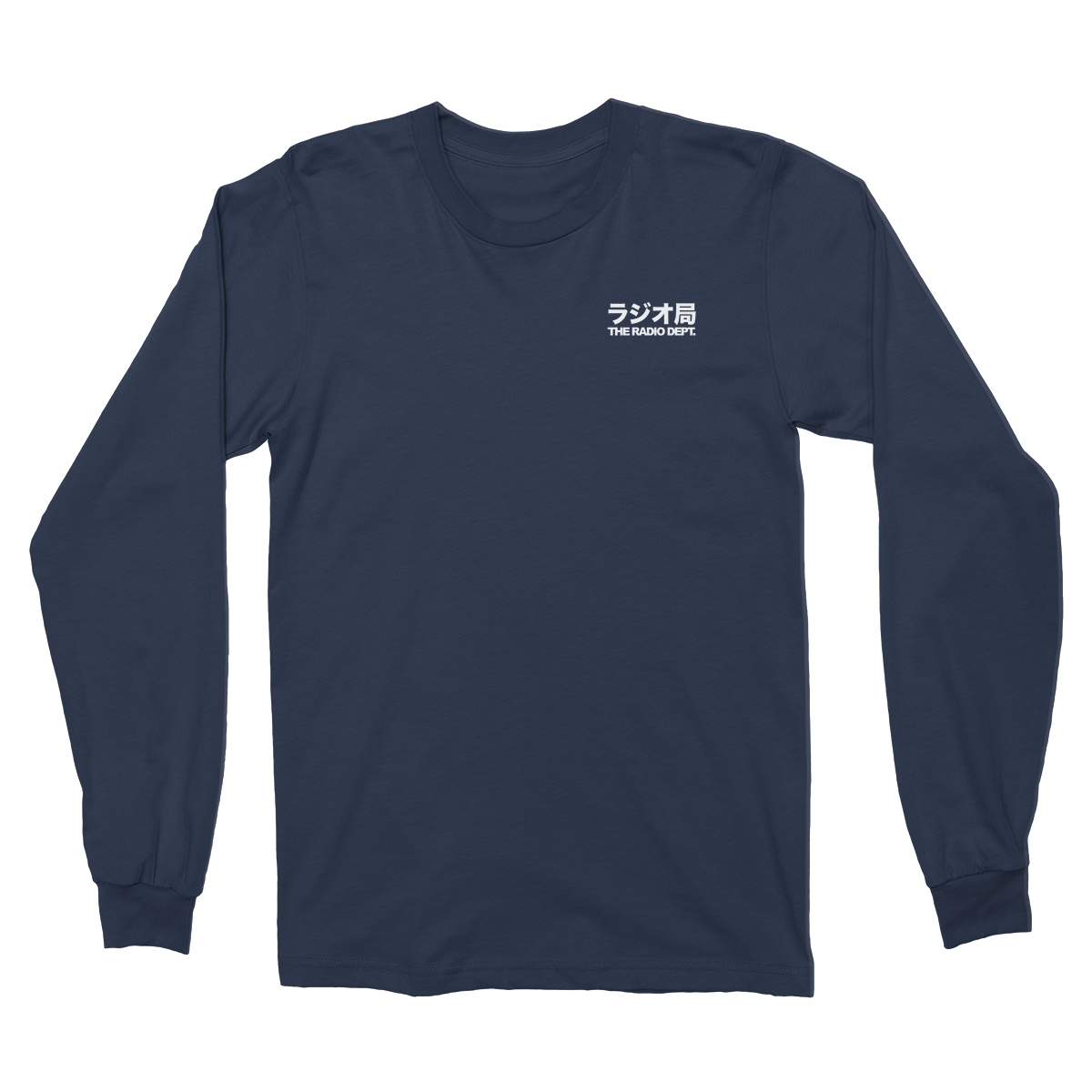Japanska Long Sleeve Tee - The Radio Dept.