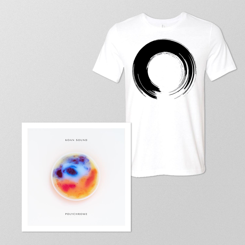 Polychrome Double LP + 'Enso' T-Shirt - KOAN Sound USD