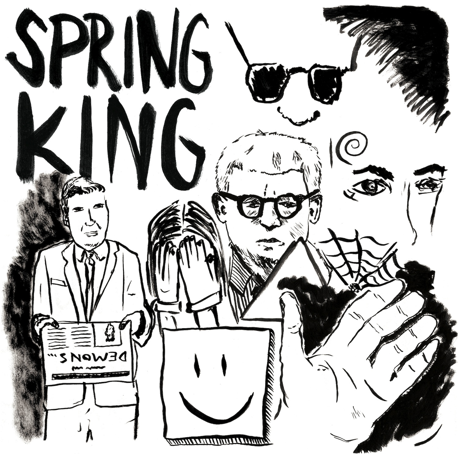 "Spring King - Demons 12"" EP - Spring King"