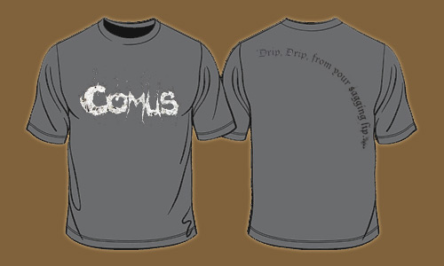 Comus - Lyrics T-shirt - Omerch