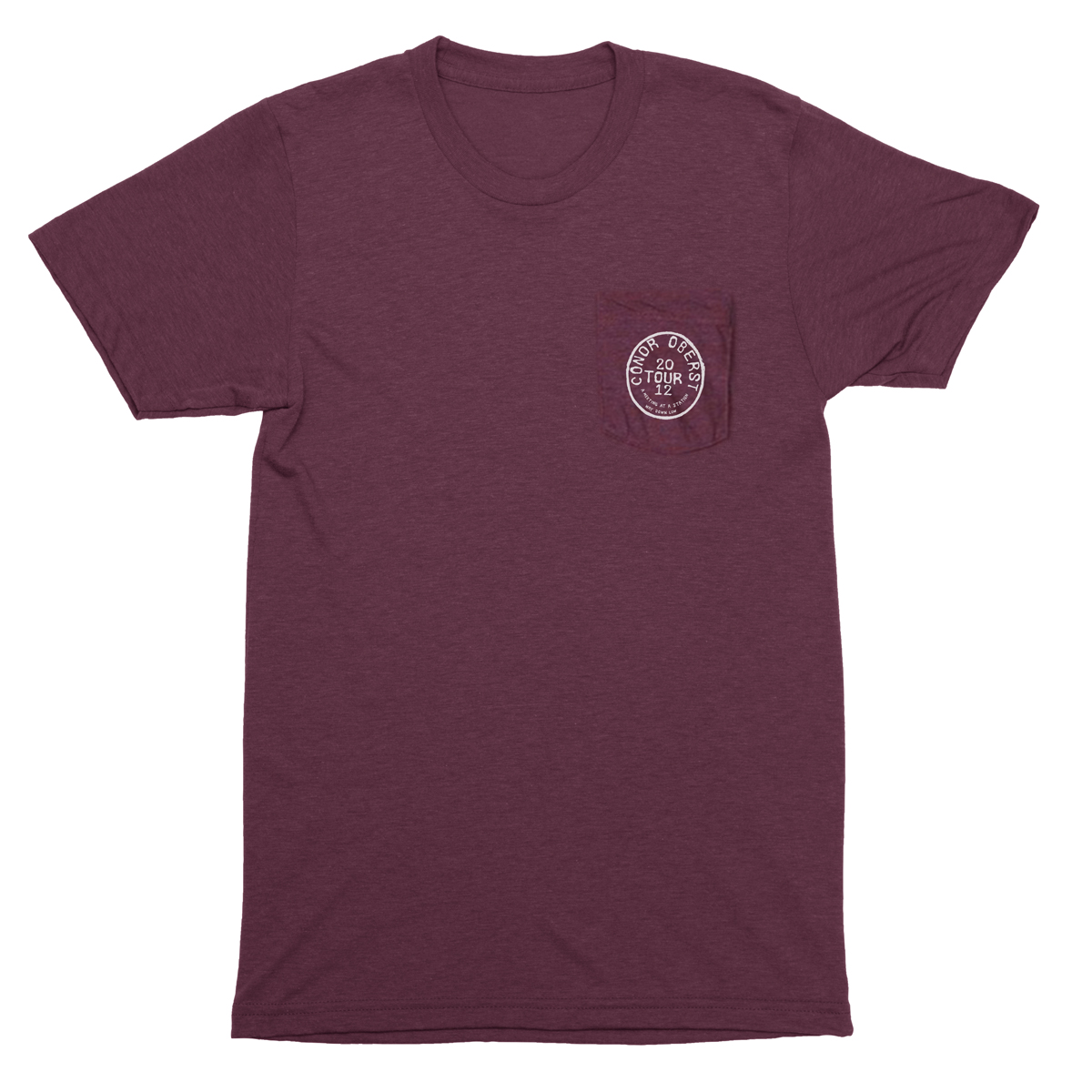 2012 Tour Stamp Pocket Tee - Conor Oberst
