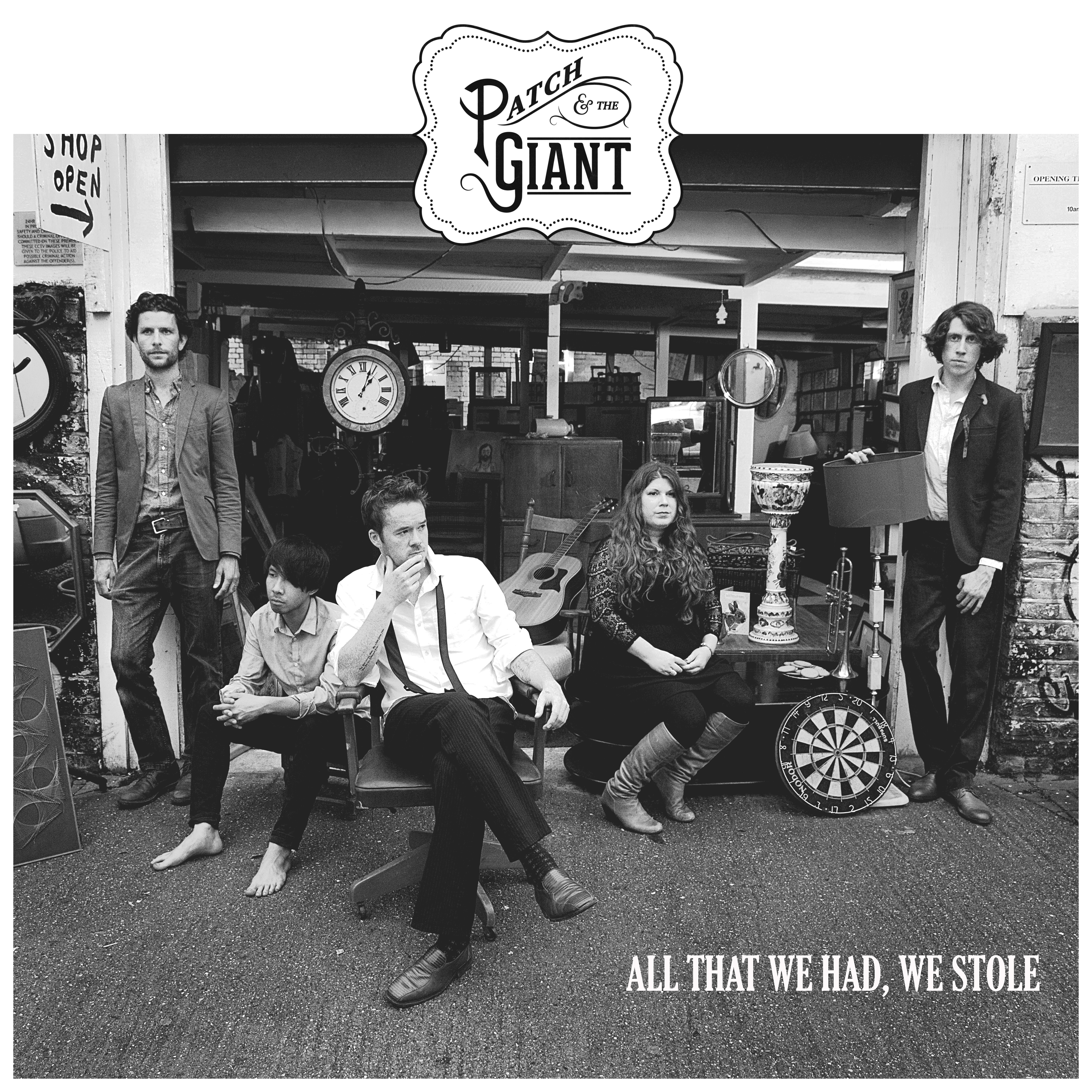 All That We Had, We Stole (CD) - Patch and the Giant