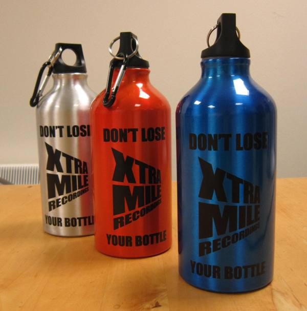 Xtra Mile Recordings Water Bottle - Xtra Mile Recordings