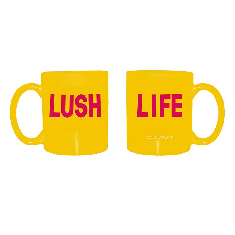 Lush Life – Yellow Mug - Zara Larsson