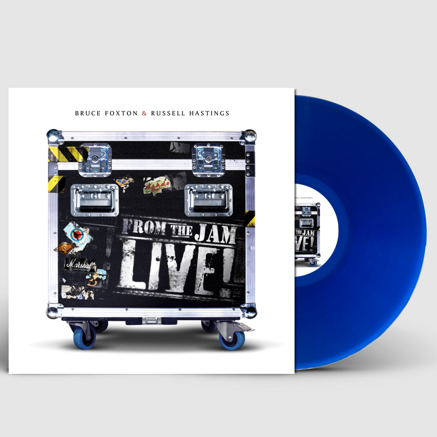 """From The Jam - Live! (Signed 12"""" Blue Vinyl) - From The Jam"""