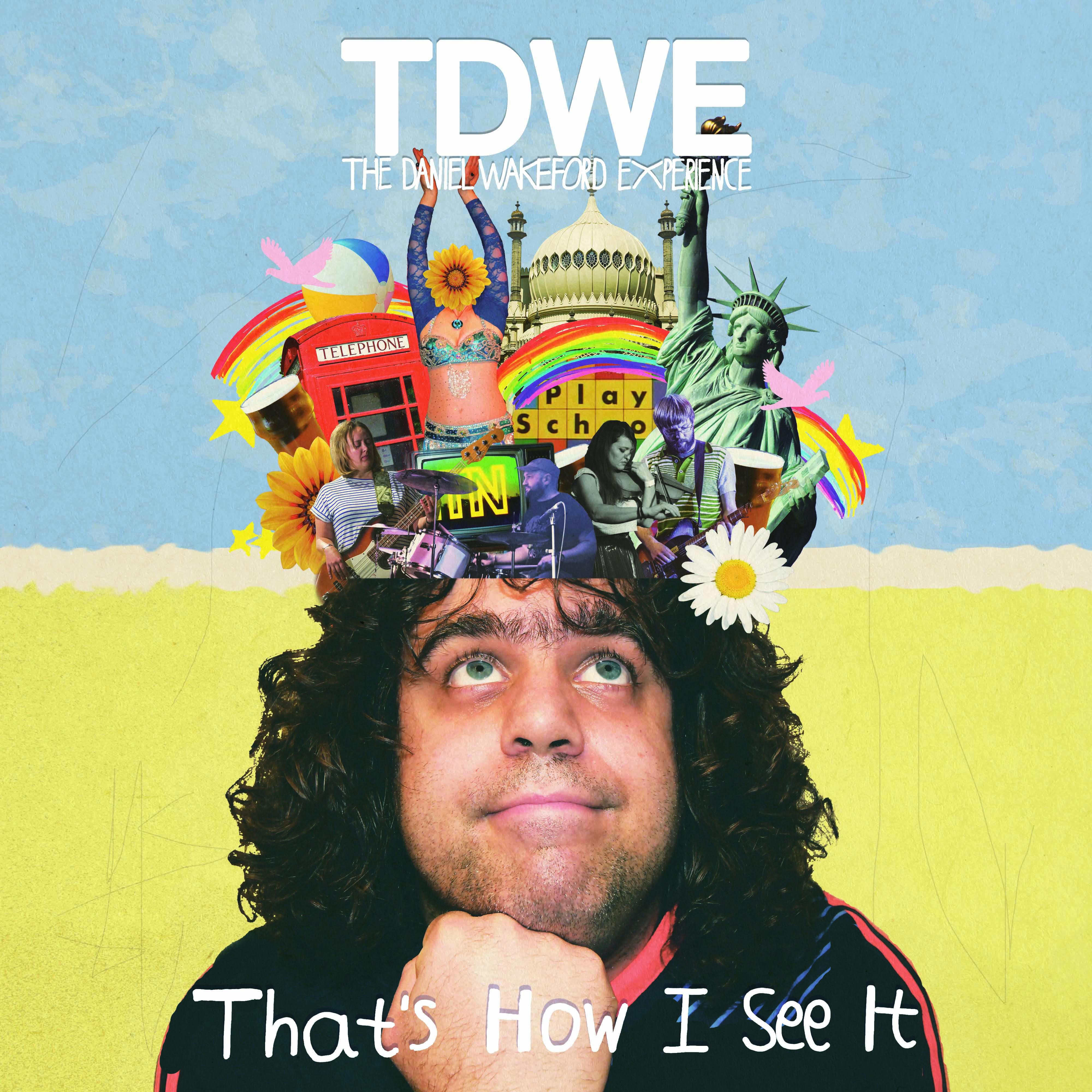 THAT'S HOW I SEE IT - CD + T shirt - Daniel Wakeford