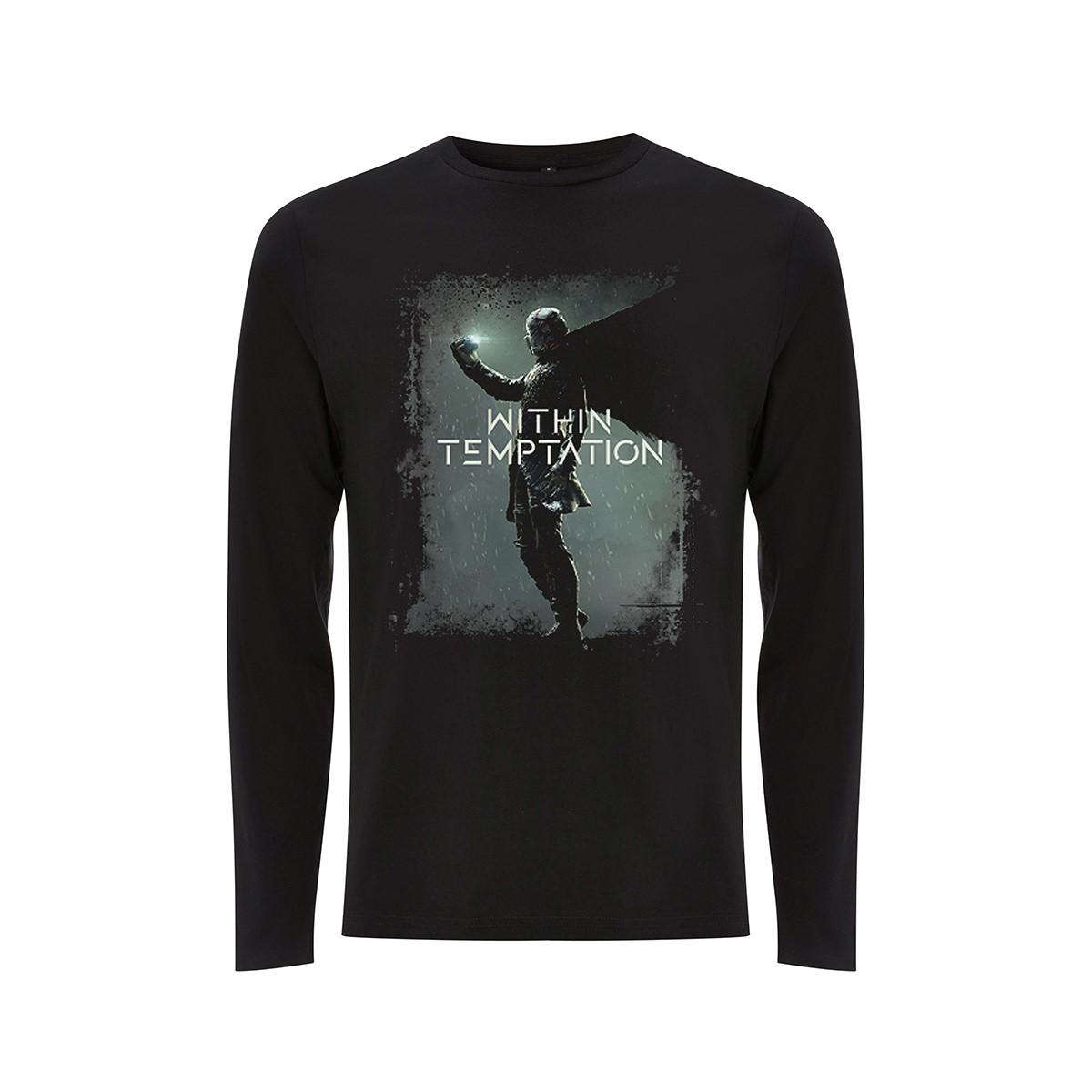 Resist Album WT Symbol - Black Longsleeve Tee - Within Temptation