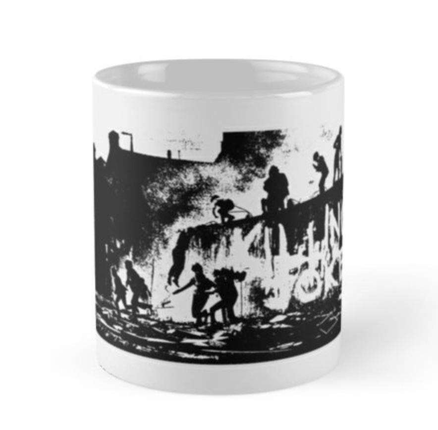 Wall White Mug - Killing Joke