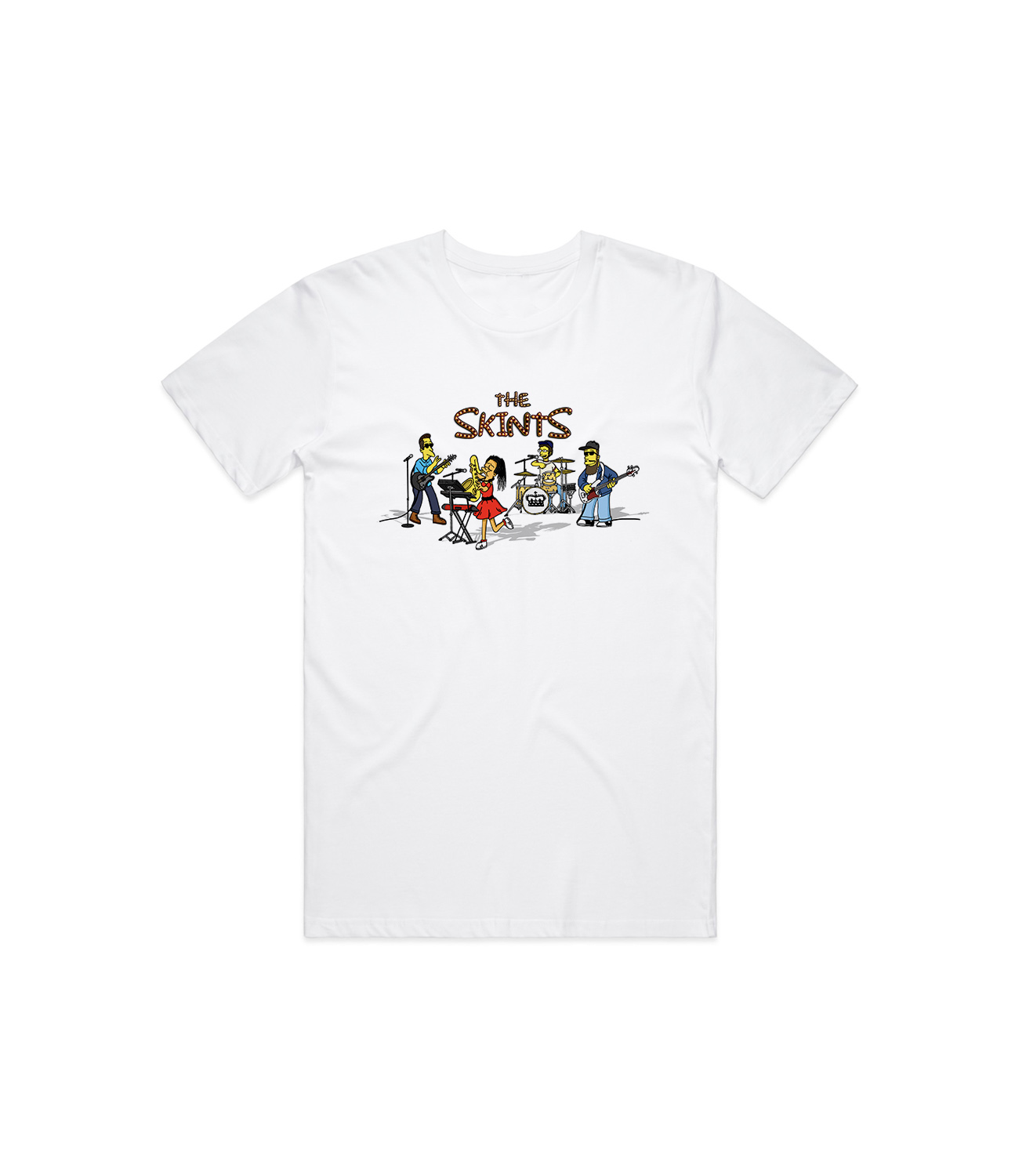 Springfield Tee White - The Skints