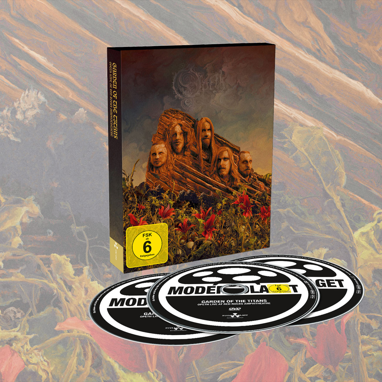 Opeth - 'Garden Of The Titans (Opeth Live at Red Rocks) DVD+2CD - Opeth