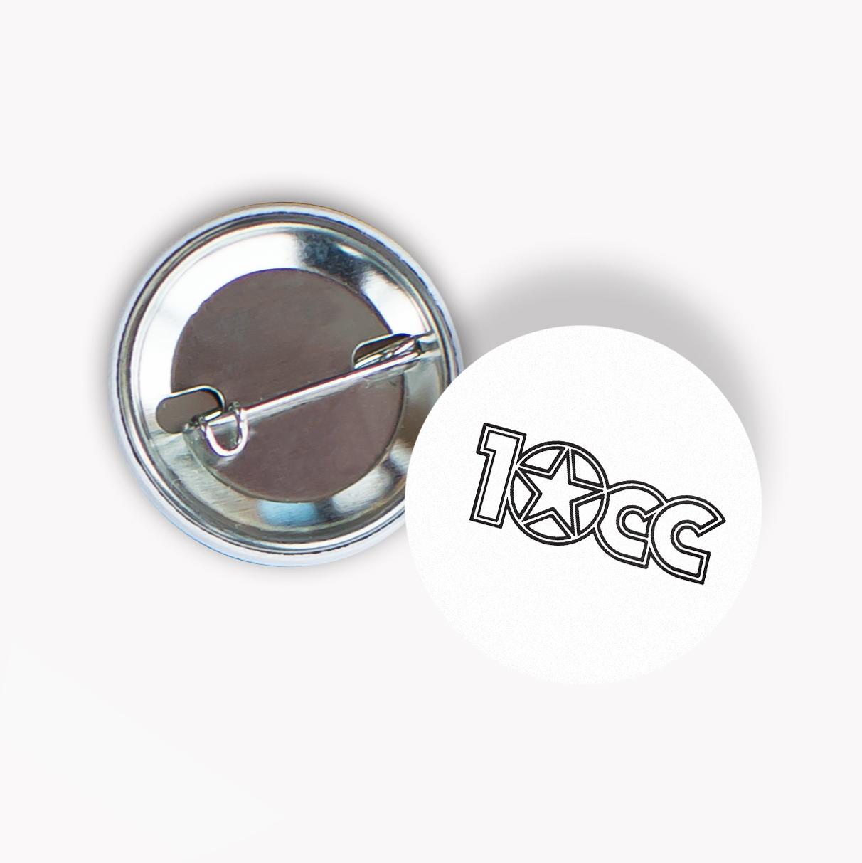 10cc Badge - 10CC