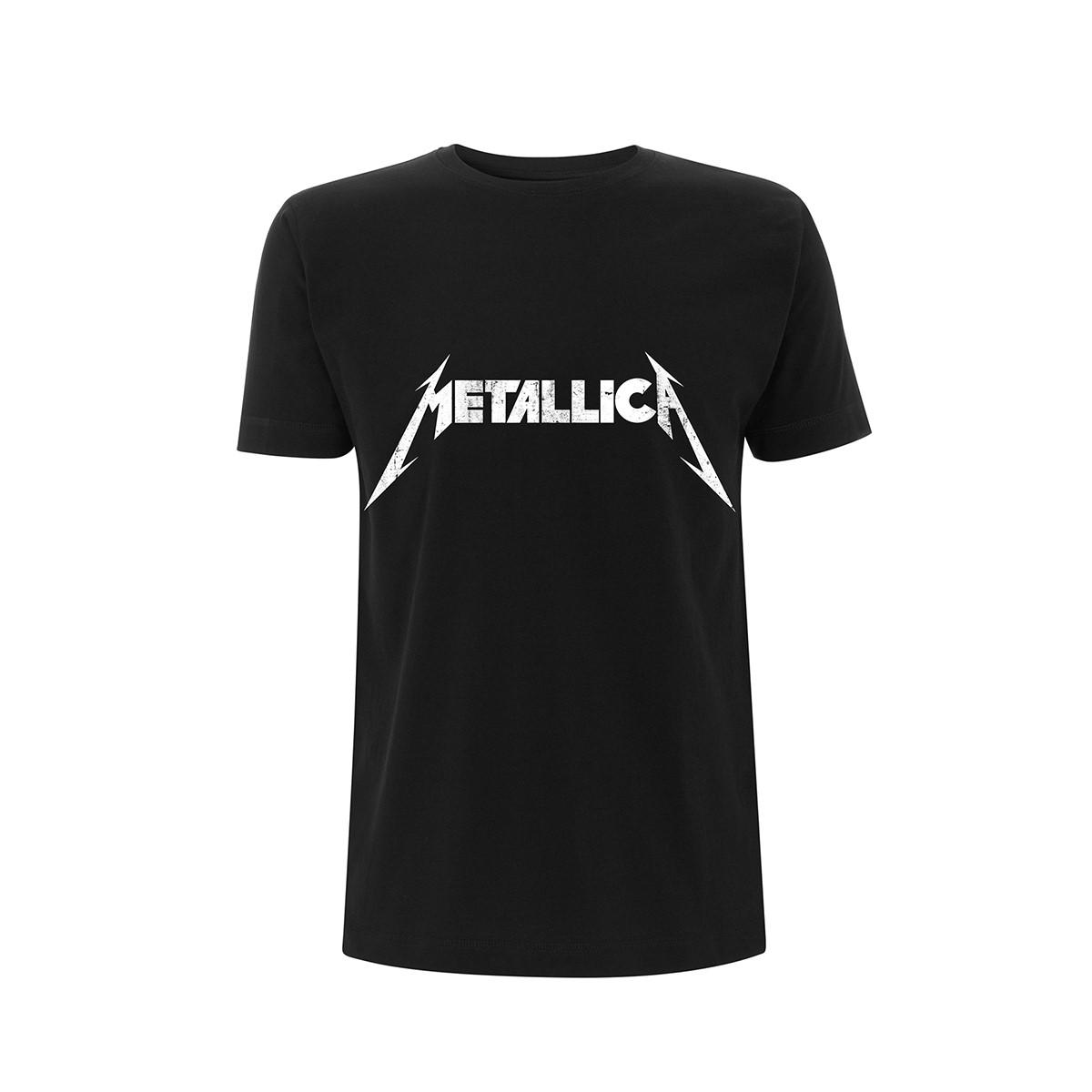 Textured Logo – Tee - Metallica