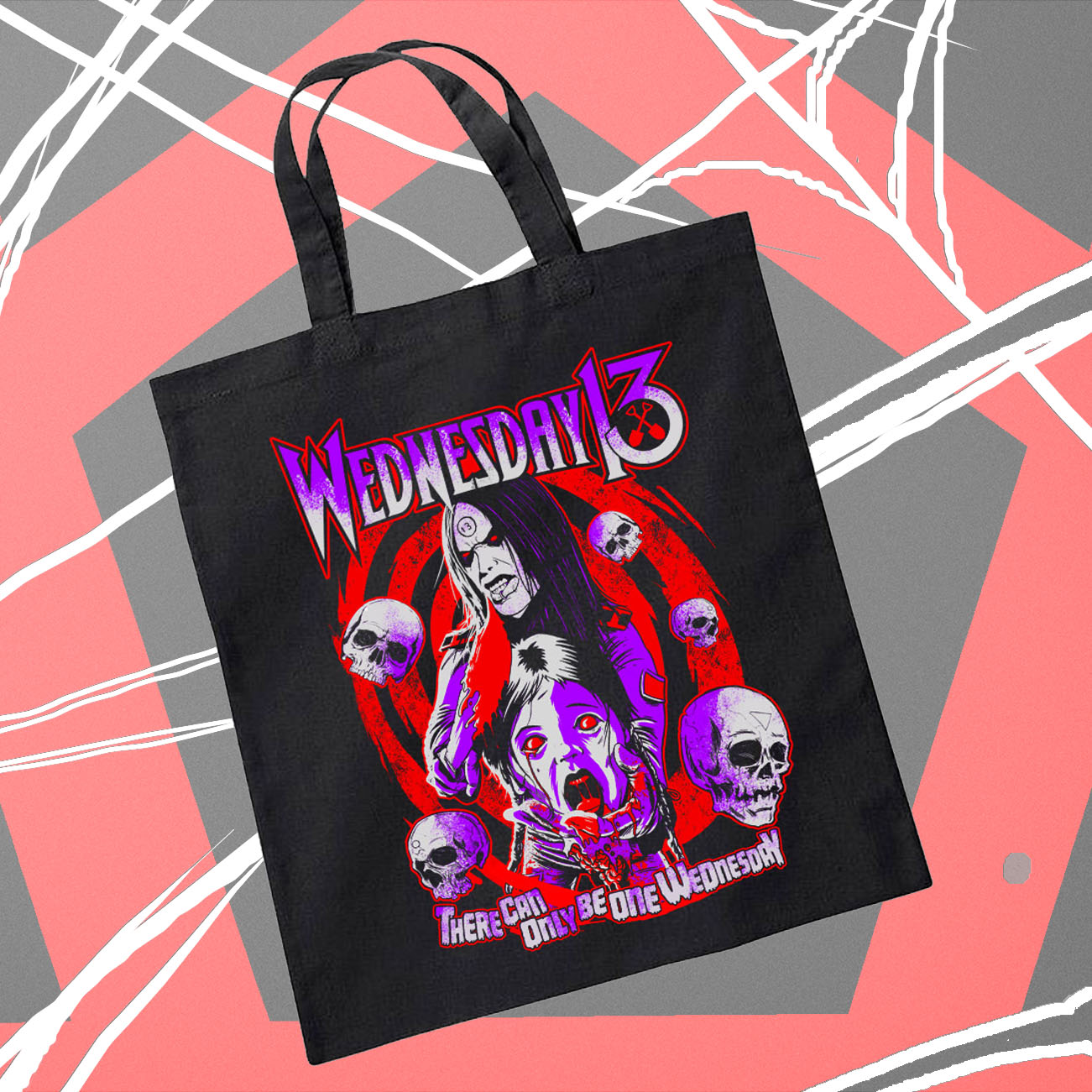 Wednesday 13 - 'Only One...' Tote Bag - Wednesday13