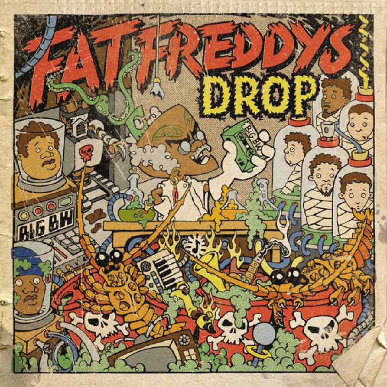 Dr Boondigga And The Big BW (CD) - Fat Freddy's Drop
