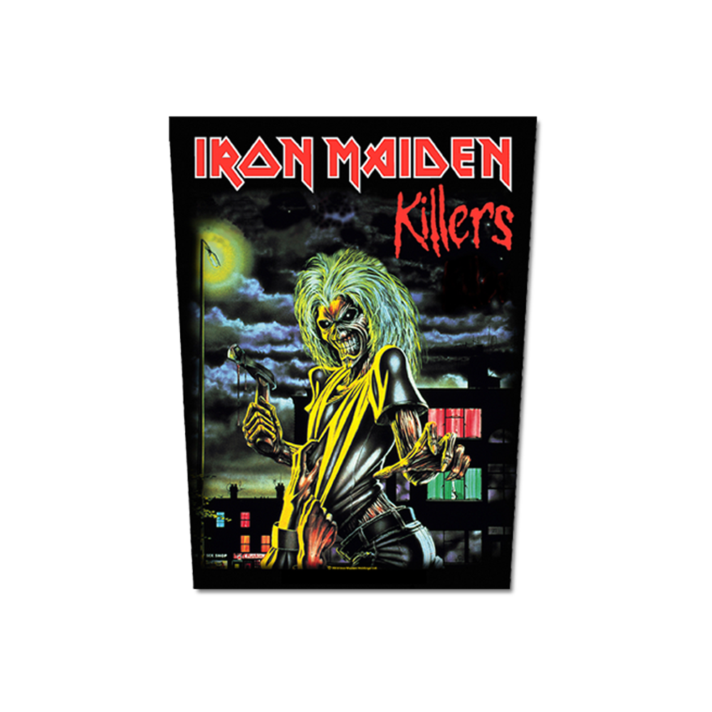 Killers Back Patch - Iron Maiden [Global USA]
