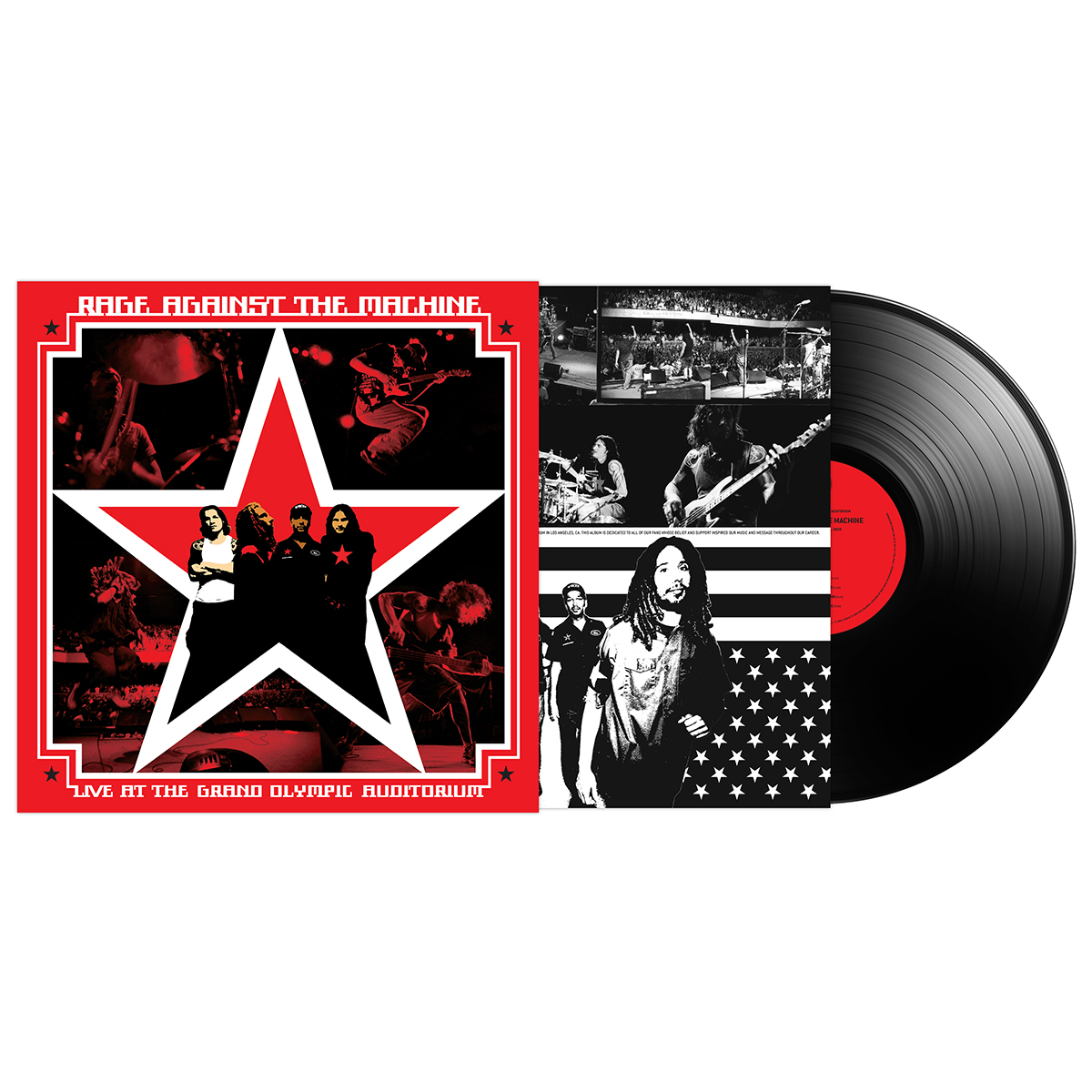Live At the Grand Auditorium – Double Vinyl - Rage Against the Machine
