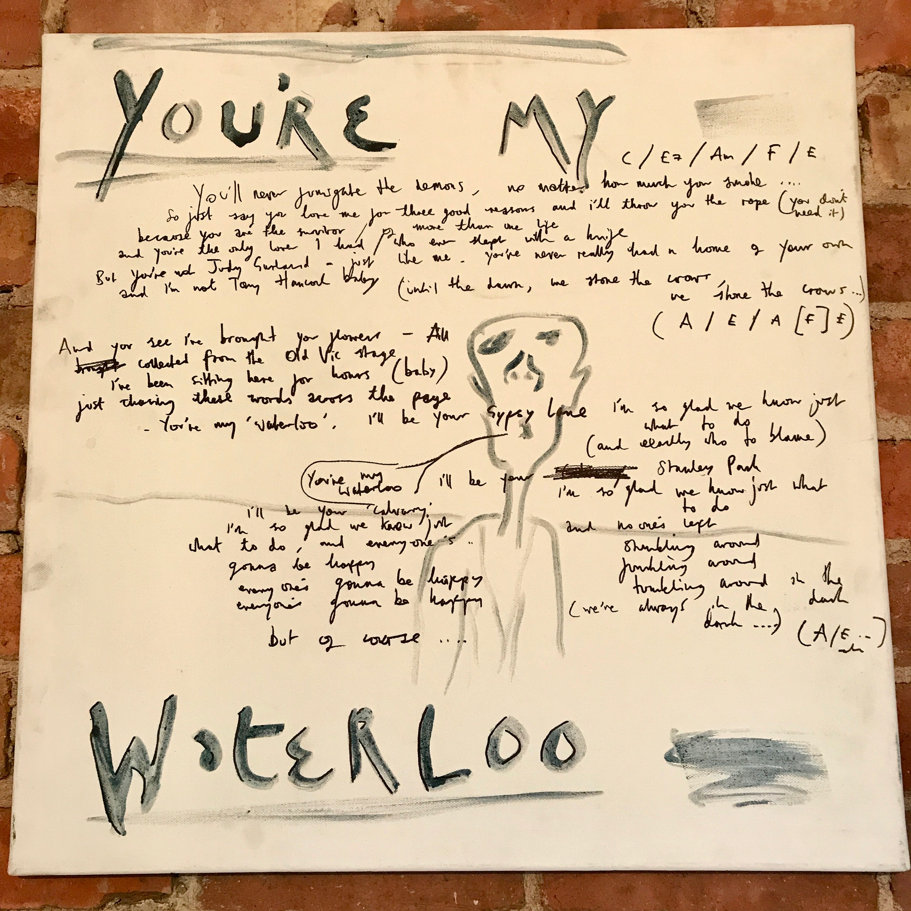Artwork lottery - You're my Waterloo - Albion Rooms Margate