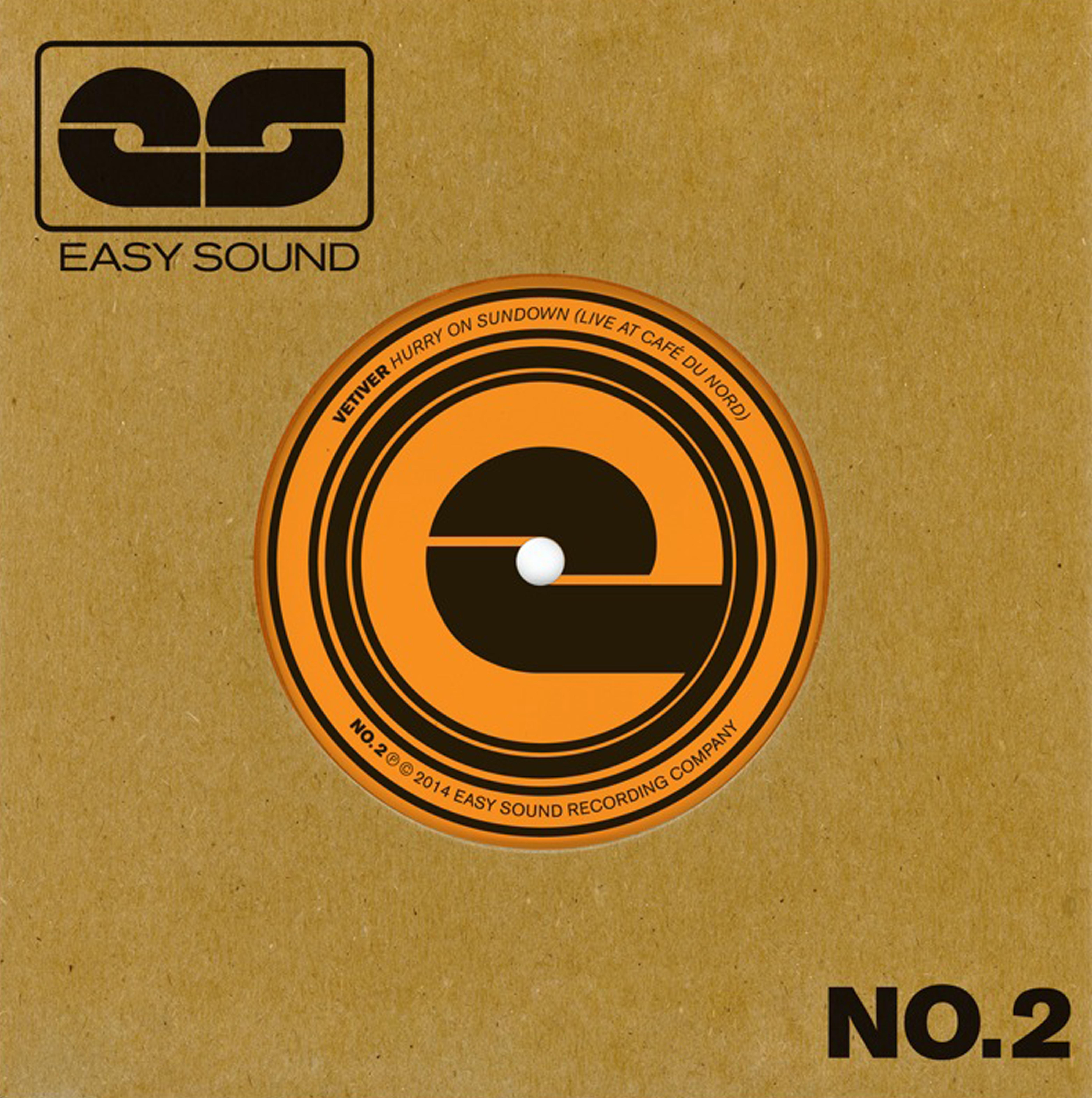 """Vetiver / EDJ – Easy Sound Singles (7"""" Vinyl) - Fruit Bats"""