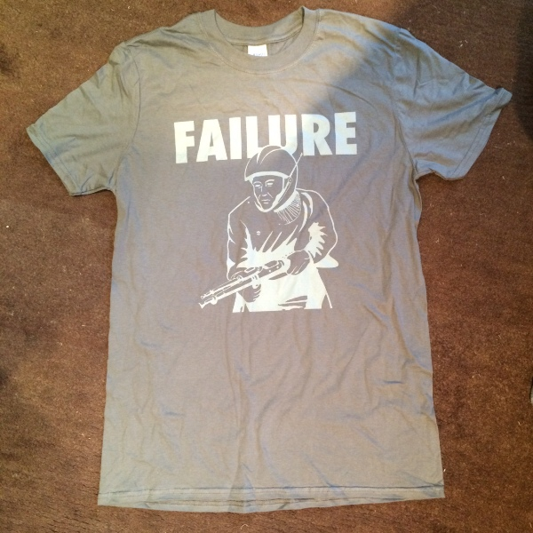 Failure - Fighter tee - Xtra Mile Recordings