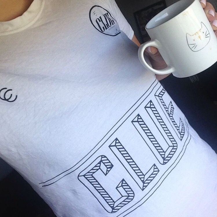 CLUE FOOTY T-SHIRT - Clue Records