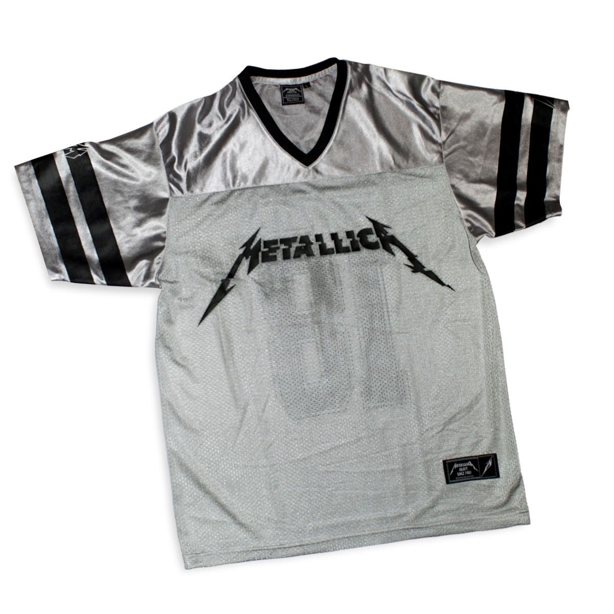 Hardwired 18 – Grey Mesh Sports Jersey - Metallica