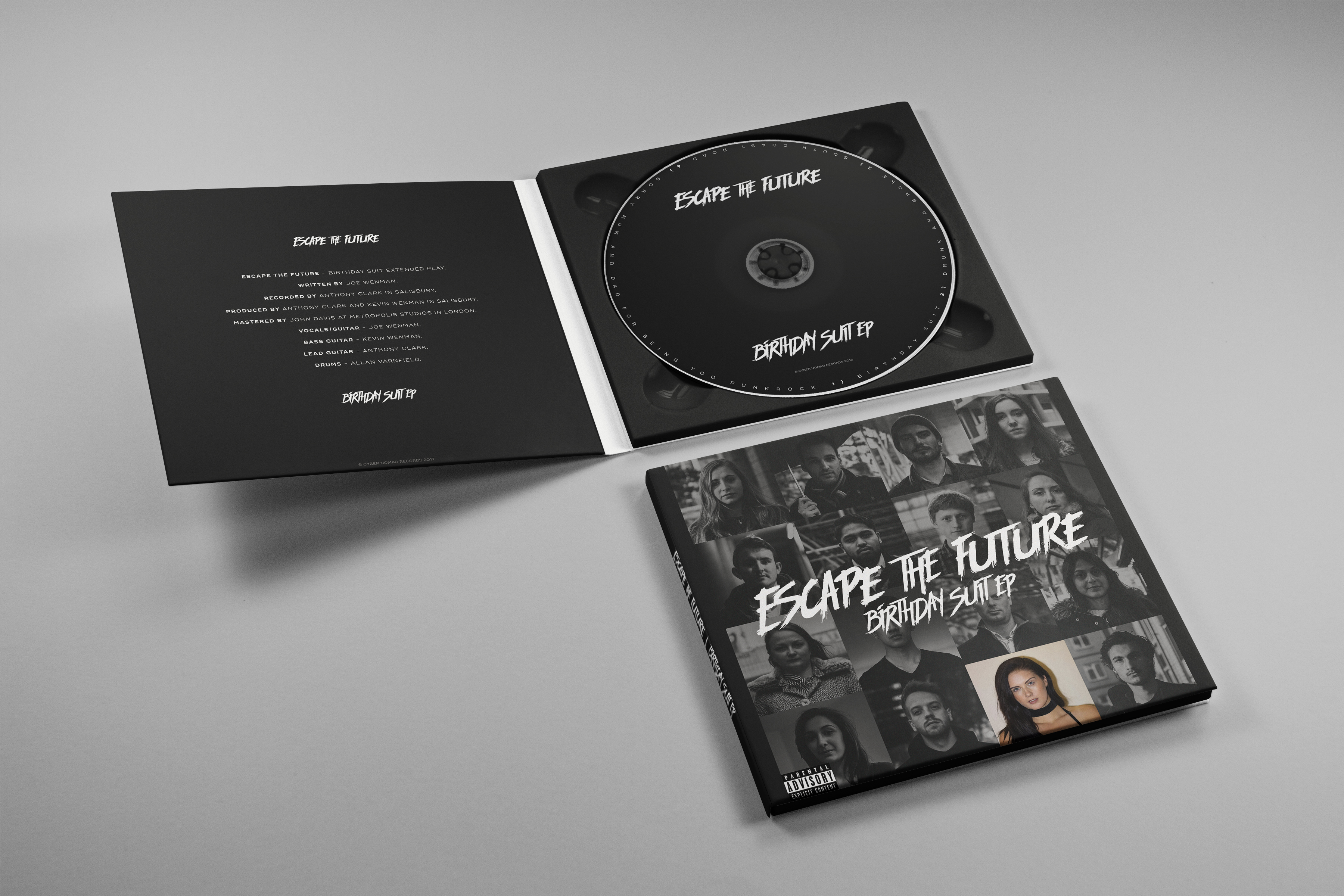 Birthday Suit EP - CD Copy - Escape the Future