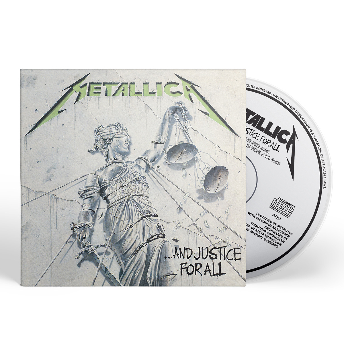 …And Justice For All (Re-Mastered) – CD - Metallica