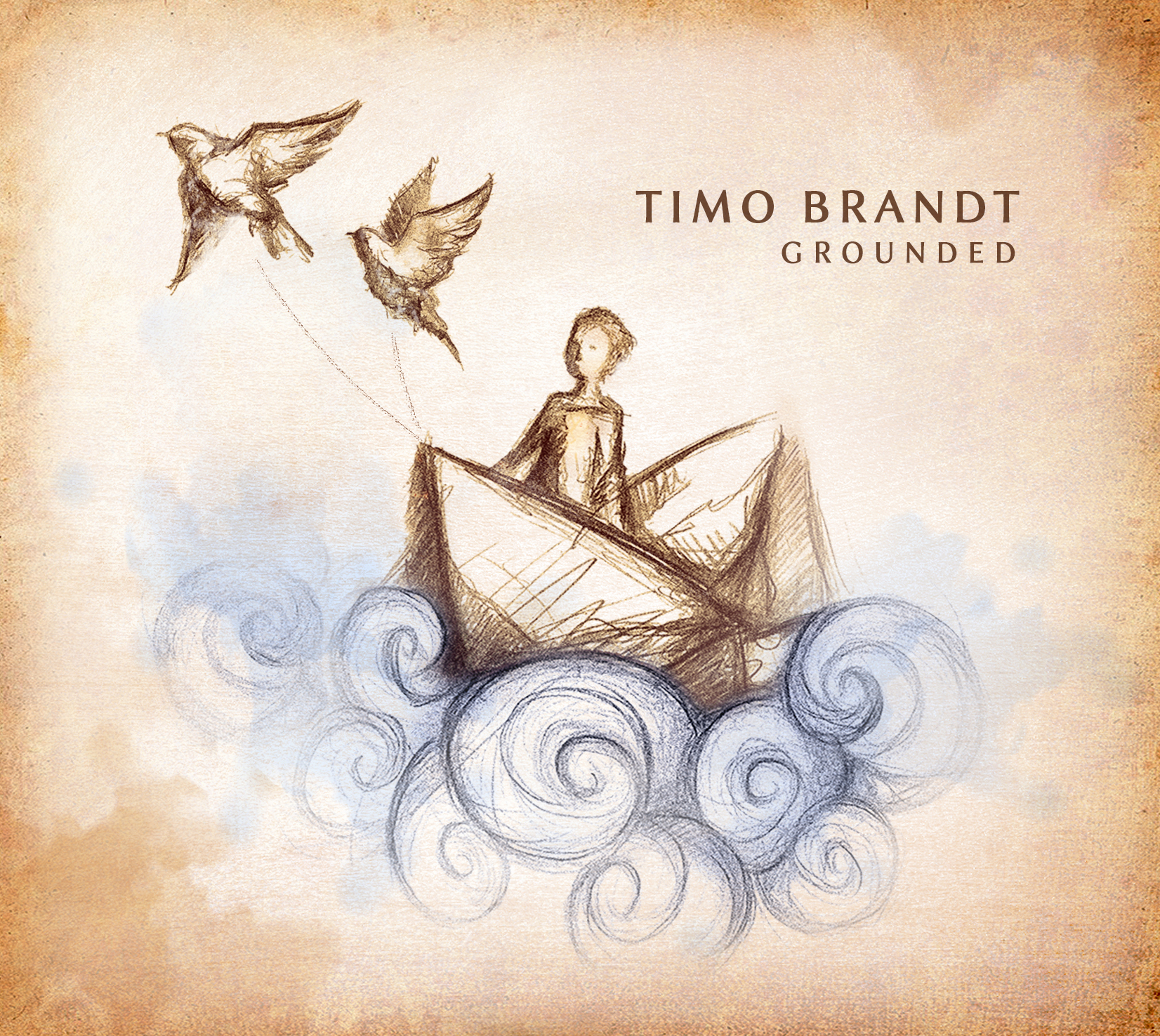 Grounded (CD, signed) - Timo Brandt