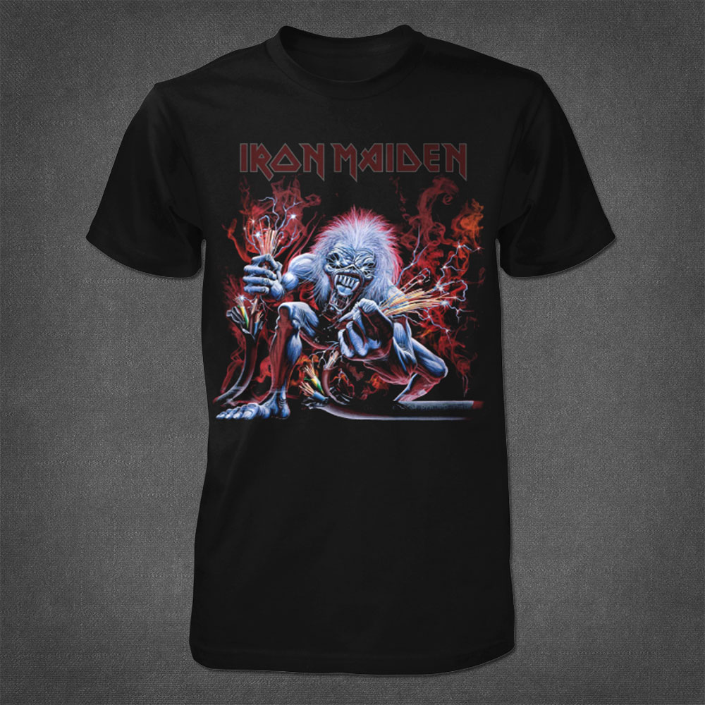 Real Live Wire Tee - Iron Maiden [Global USA]