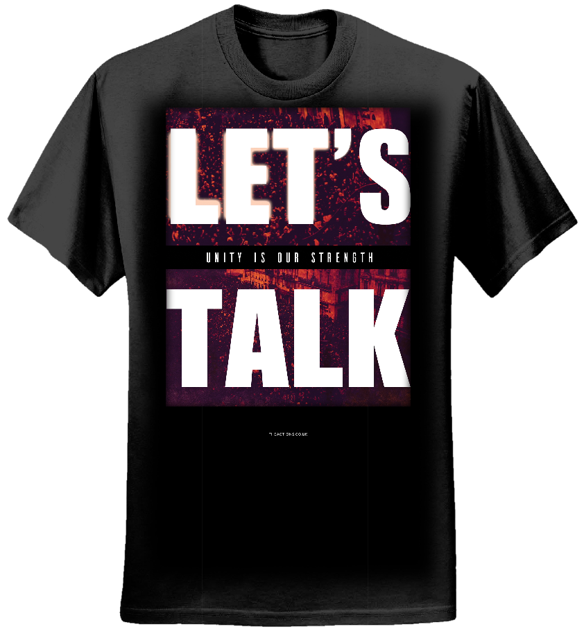 Let's Talk - T-Shirt (Women) - The Actions