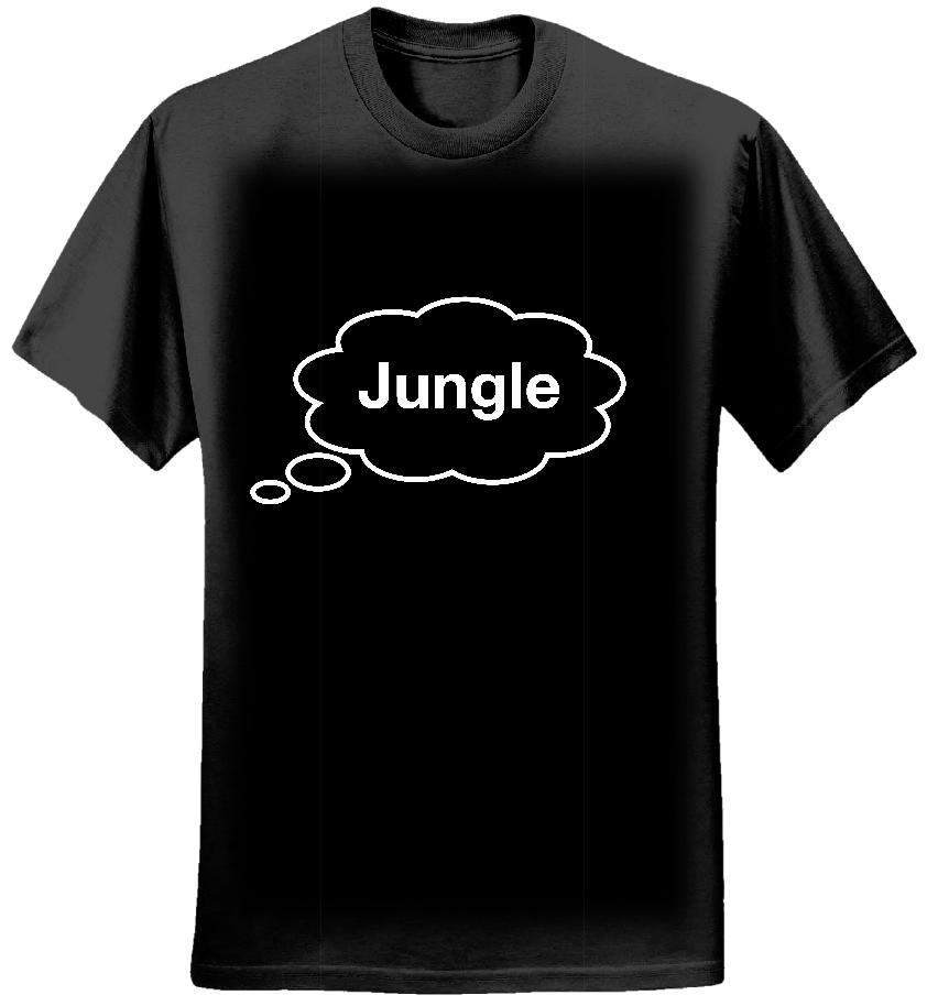 Jungle bubble T-shirt - Tom Vek