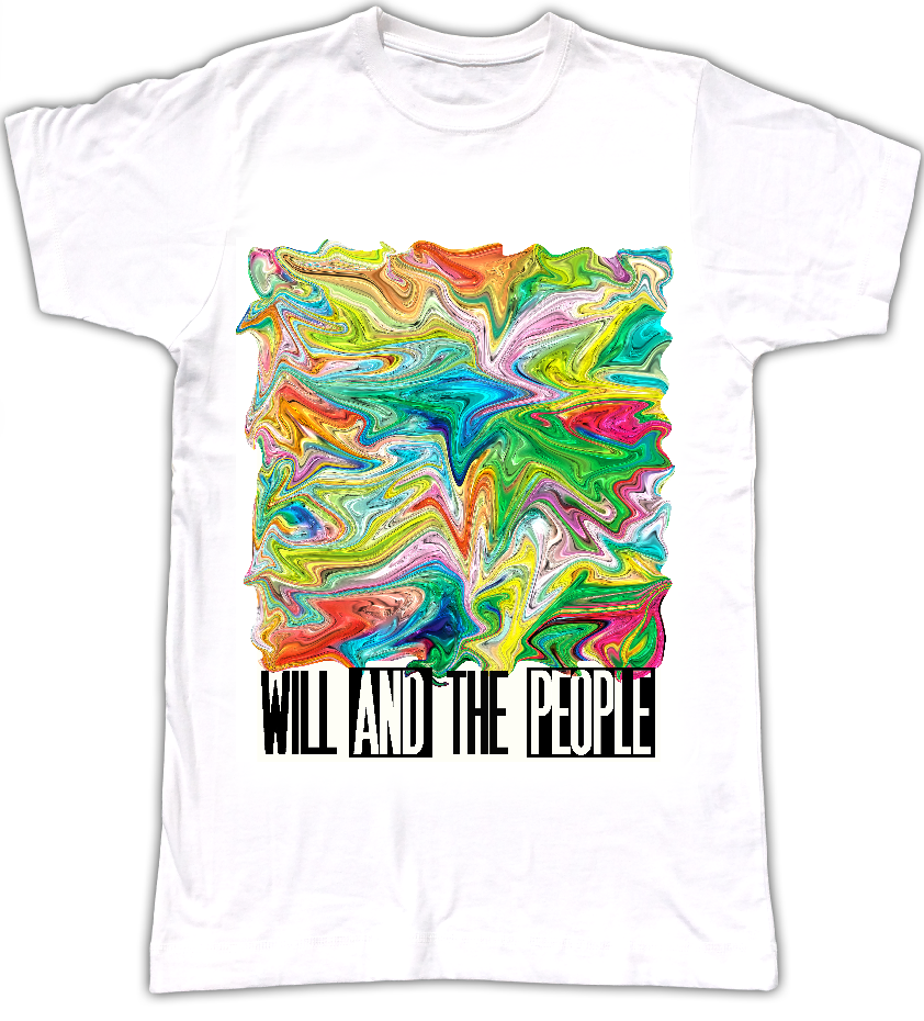 Swirly Will and The People T-Shirt - Will and The People