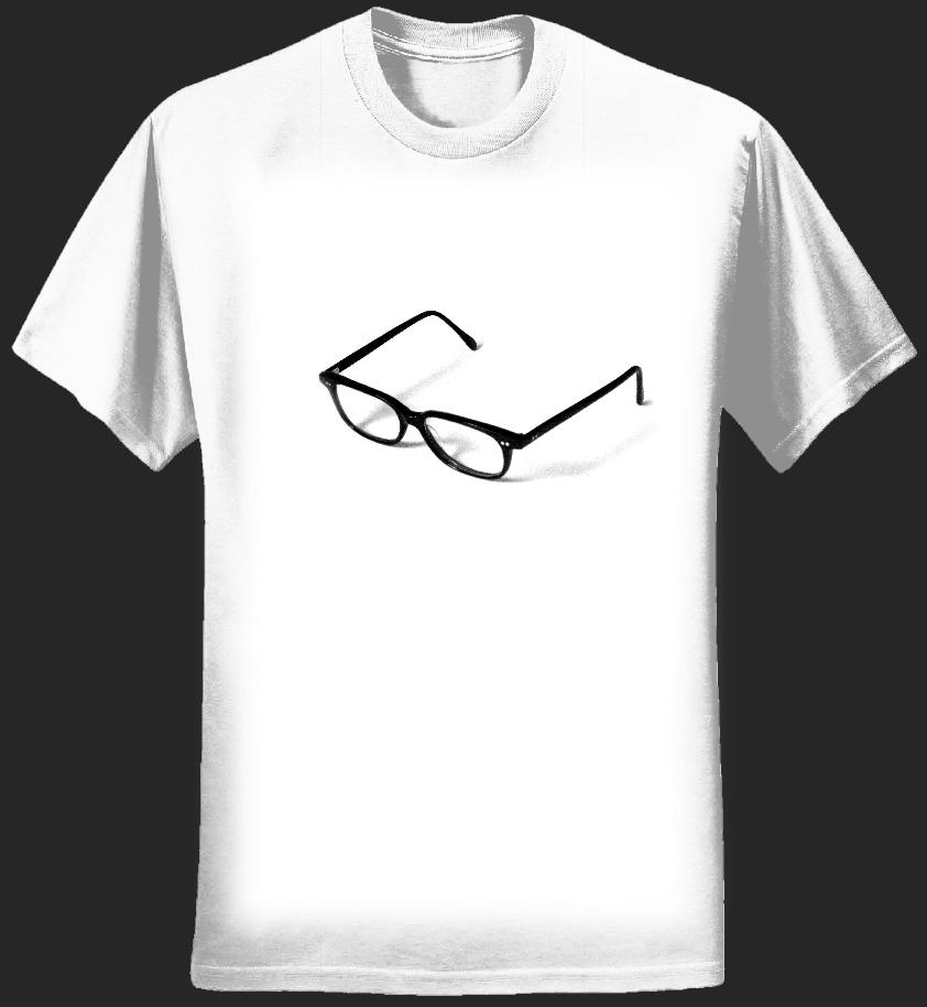 Leisure Seizure Specs T-shirt - Tom Vek