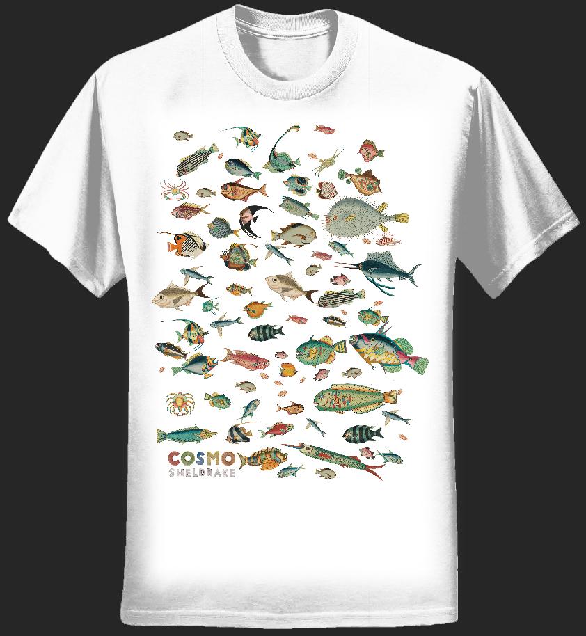 Many Fish Shirt - cosmosheldrake