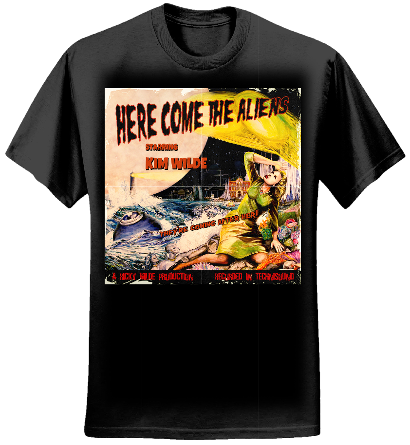 Here Come The Aliens T - Kim Wilde
